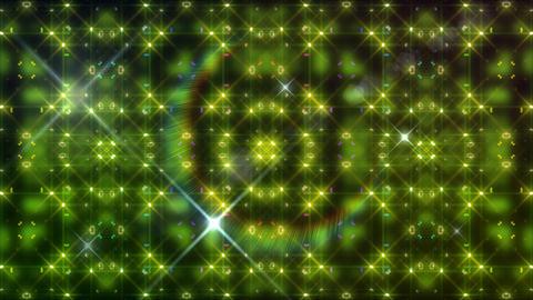 LED Light Kaleidoscope W2BoK3 HD Stock Video Footage