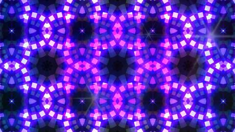 LED Light Kaleidoscope W3BoK4 HD Stock Video Footage