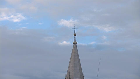 catholic church 2 Stock Video Footage