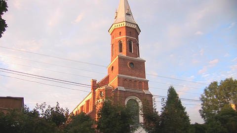 catholic church 4 Stock Video Footage