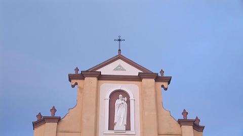 Greek Catholic Church 6 Stock Video Footage