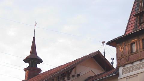 kolomya building 2 Stock Video Footage