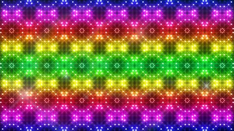 LED Light Kaleidoscope C2BiK2 HD CG動画