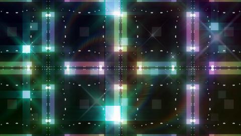 LED Light Kaleidoscope C3BoK5 HD Stock Video Footage