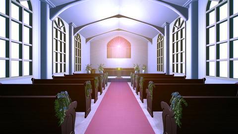 Church Stock Video Footage