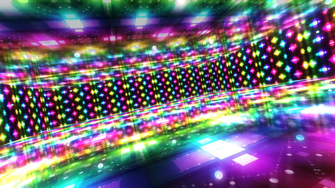 Dance Floor A2 HD Stock Video Footage