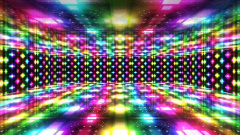 Dance Floor A4 HD Stock Video Footage