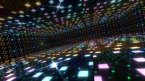 Dance Floor B2 HD Stock Video Footage