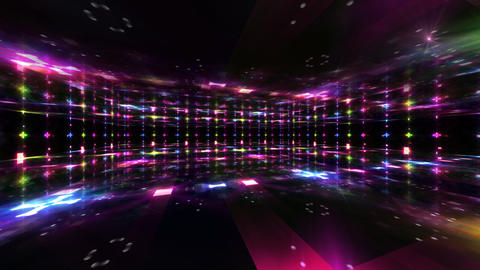 Dance Floor C1 HD Stock Video Footage