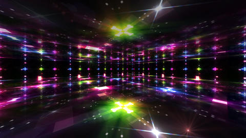 Dance Floor C3 HD Stock Video Footage