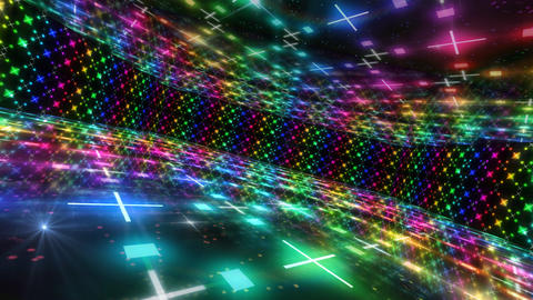 Dance Floor D2 HD Stock Video Footage
