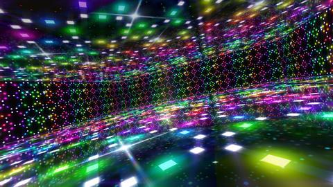 Dance Floor D2 HD Stock Video Footage