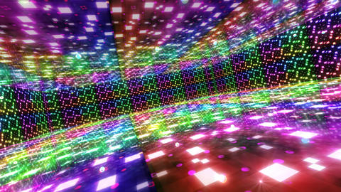 Dance Floor G2 HD Stock Video Footage