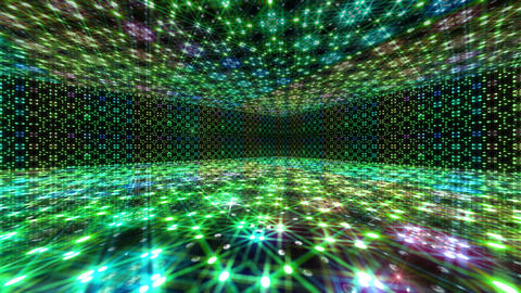Dance Floor L3 HD Stock Video Footage