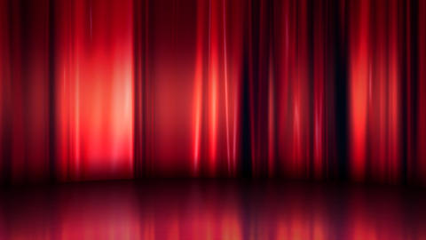 Curtain Stage Background Curtain Stage natural commerce red silk Animation