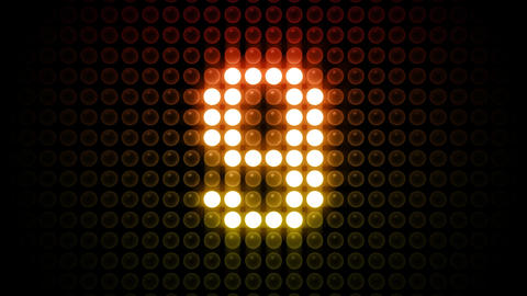 LED Countdown AbF4 HD Stock Video Footage