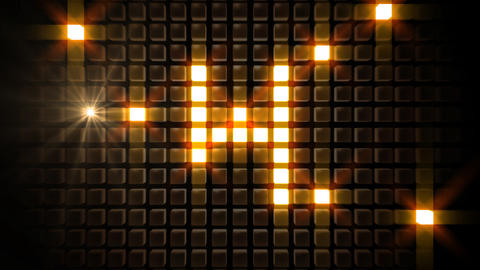 LED Countdown BbM1 HD Stock Video Footage