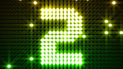 LED Countdown CbM2 HD Stock Video Footage