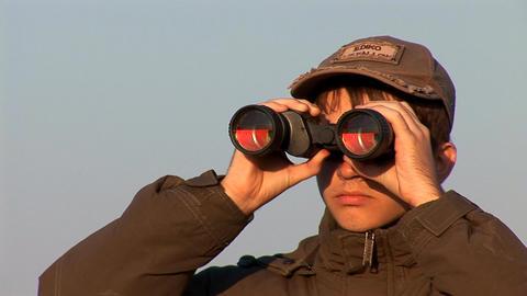 binocular 3 Footage