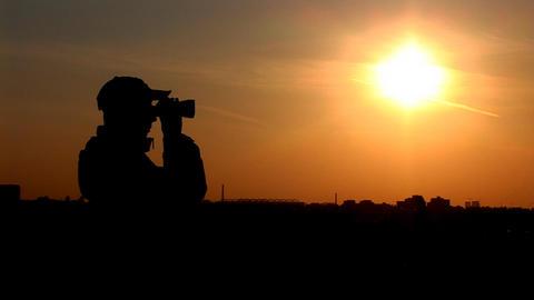 binocular 7 Footage