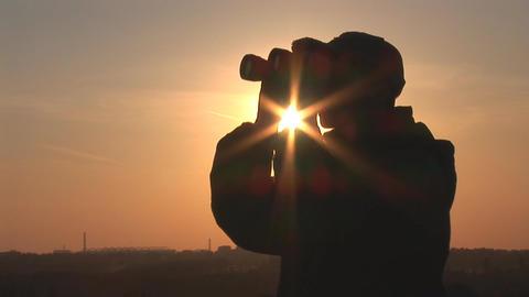binocular 9 Footage