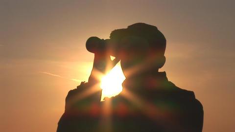 binocular 11 Footage