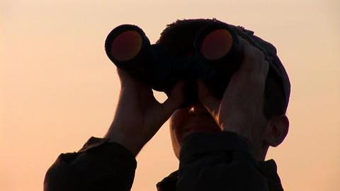 binocular 13 Stock Video Footage