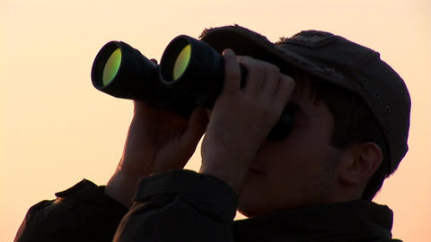 binocular 13 Stock Video Footage
