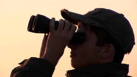 binocular 13 Footage