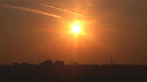 sunset912 Stock Video Footage
