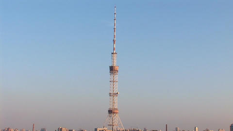 TV tower 5 Stock Video Footage