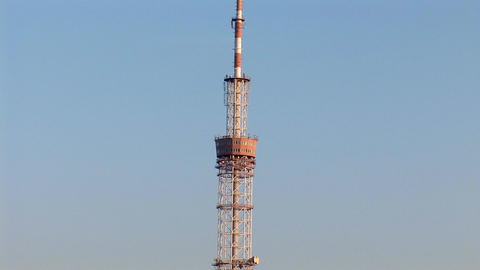 TV tower 5 Footage