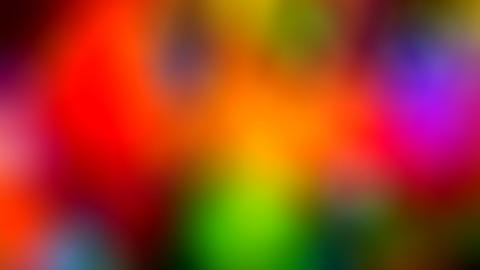 Weeding rainbow Background Defocused Particles Moving... Stock Video Footage