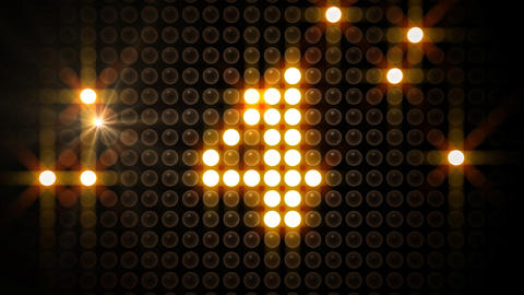 LED Countdown AbF1 HD Stock Video Footage