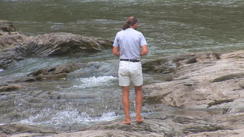 waterfall 9 Stock Video Footage