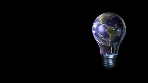 global business universe world lamp globe earth virtual planet news Animation