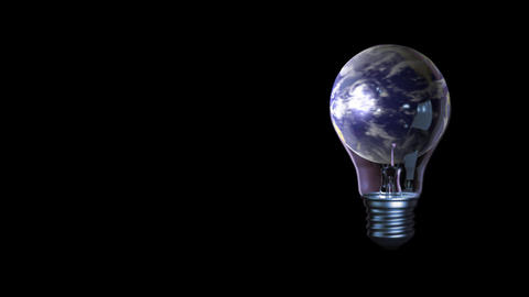 global business universe world lamp globe earth virtual... Stock Video Footage