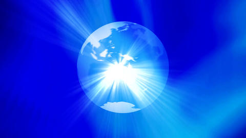 global business universe world globe earth virtual planet Animation