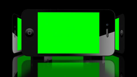 Green screen Smartphone 4G IPhone Advertisement presentation commerce Animation