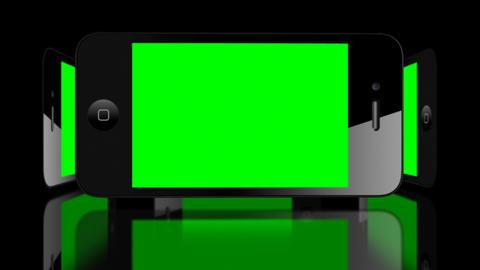Green screen Smartphone 4G IPhone Advertisement presentation commerce Animation