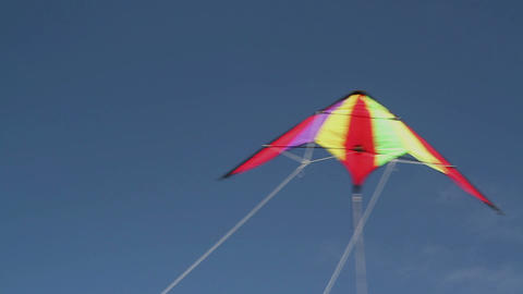 Kite soaring 2 Stock Video Footage