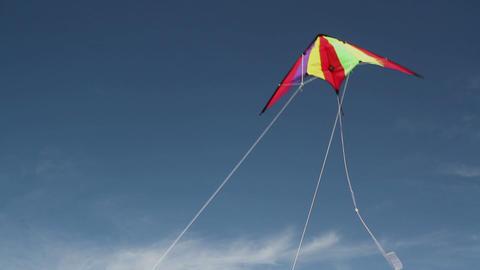 Kite soaring 2 Stock Video Footage