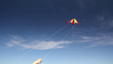 Fall Kite Stock Video Footage
