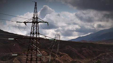 Electric transmission line Footage