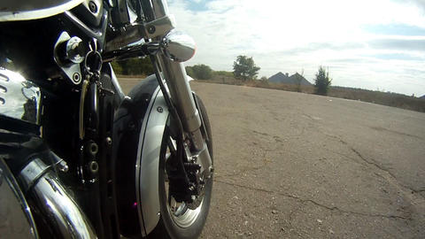 Chopper whell Stock Video Footage