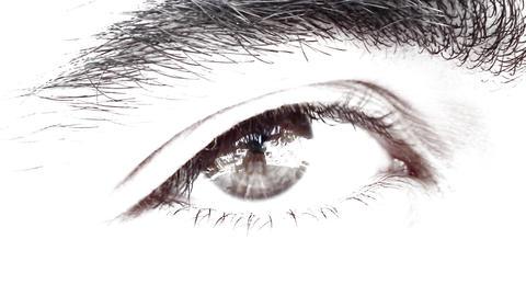 hunk male Handsome Man Eye eyes looking see Footage