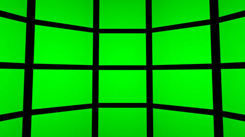transitions Green Screen FX room hi-tech projection... Stock Video Footage