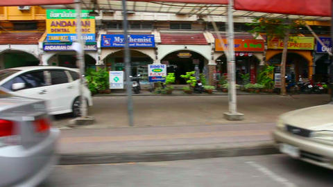 Street Of Phuket stock footage