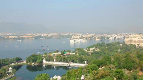 Udaipur panorama Footage