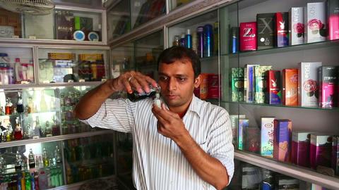 Indian perfumer Footage